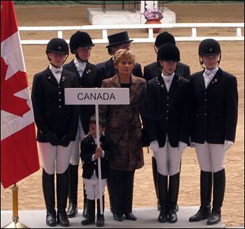 Canadian Young Riders, Equestrian